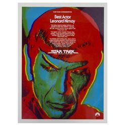 """""""Star Trek: The Motion Picture"""" Spock Artwork."""