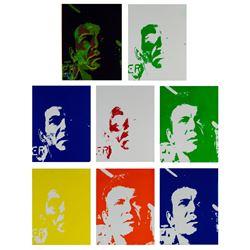 """""""Star Trek: The Motion Picture"""" Kirk Artwork."""