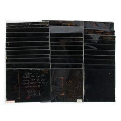 "Collection of (32) ""Star Trek"" Transparencies."