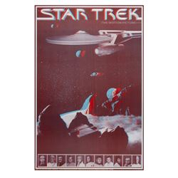 """Star Trek: The Motion Picture"" 3-D Poster."