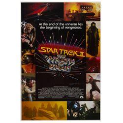 """""""Star Trek II: The Wrath of Khan"""" Poster."""