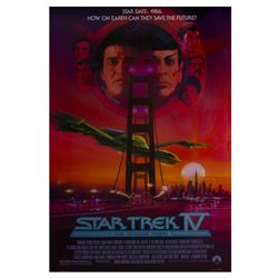 """Star Trek IV: The Voyage Home"" Poster."
