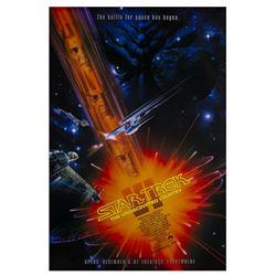 """""""Star Trek VI"""" One Sheet Poster."""