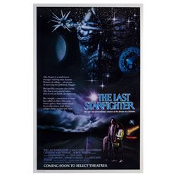 """The Last Starfighter"" Advance One Sheet Poster."