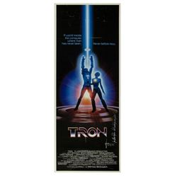 """Tron"" Insert Poster Signed by Syd Mead."
