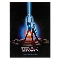 """""""Tron"""" Exhibitor Campaign Book."""