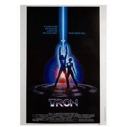 """Tron"" 40x30 Original Poster."