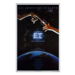 """E.T. the Extra-Terrestrial"" One Sheet."