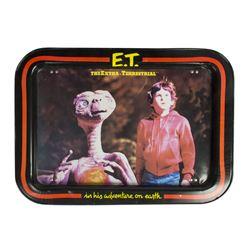 """E.T."" Tin Photo Tray."