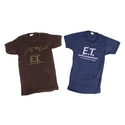"Pair of Vintage ""E.T."" T-Shirts."