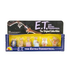 "Boxed Set of ""E.T."" Collectible Toys."