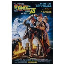 """Back to the Future Part III"" Advance Poster."