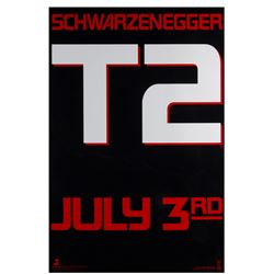 """Terminator 2: Judgement Day"" Advance Poster."