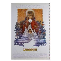 """Labyrinth"" Poster Printer's Proof."