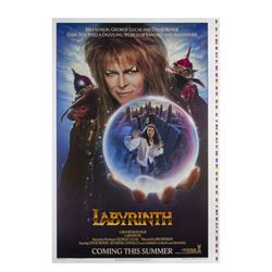 """Labyrinth"" Advance One Sheet Poster."
