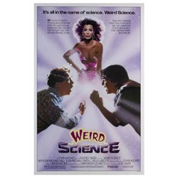 """Weird Science"" One Sheet Poster."