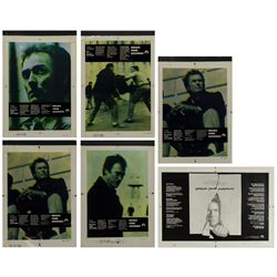 "Set of (6) ""Escape from Alcatraz"" Promo Designs."