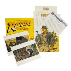 "Rare ""Raiders of the Lost Ark"" Licensee Packet."