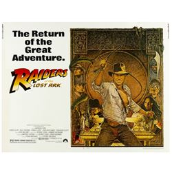 """Raiders of the Lost Ark"" Re-Release Half Sheet Poster."