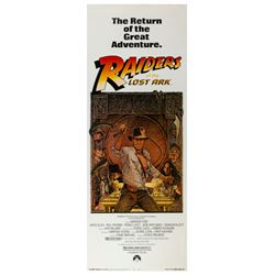 """Raiders of the Lost Ark"" Re-Release Insert Poster."