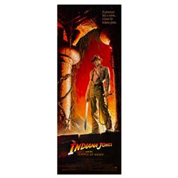 """Indiana Jones and the Temple of Doom"" Insert Poster."