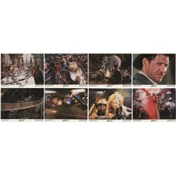 "Set of (8) ""Temple of Doom"" Large Lobby Cards."