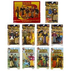 "Collection of ""The Beatles"" Yellow Submarine Figures."