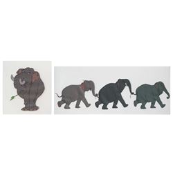 "Pair of ""The Jungle Book"" Original Animation Cels."