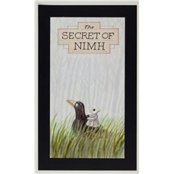 """The Secret of NIMH"" Original Poster Concept."