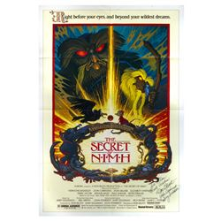 """The Secret of NIMH"" Multi-Signed Poster."