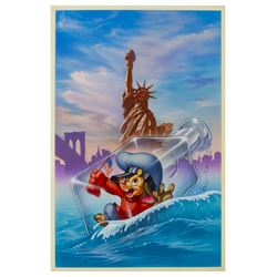 """An American Tail"" Original Painting."