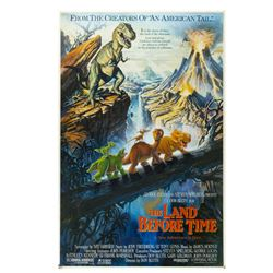 """The Land Before Time"" Original Poster Development Art."