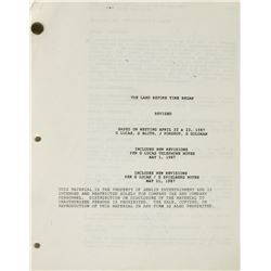 """The Land Before Time Began"" Script."
