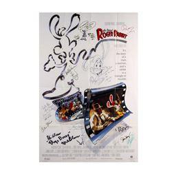 """""""Who Framed Roger Rabbit?"""" Multi-Signed Poster."""