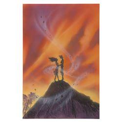 "Original John Alvin ""Pocahontas"" Poster Concept."