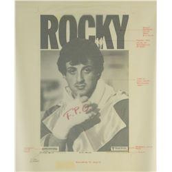"""""""Rocky"""" Poster Development Art."""
