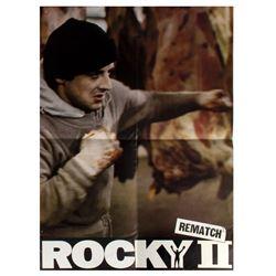 """Rocky II"" Pre-Release Promo Poster."