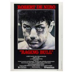 """Raging Bull"" 40x30 Poster."