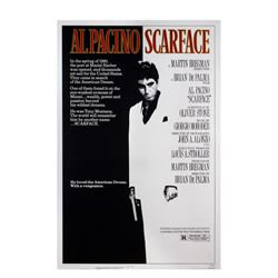 """Scarface"" One Sheet Poster."
