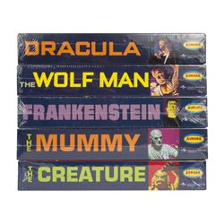 Set of (5) Universal Monster Model Kits.