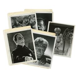 Set of (25) Universal Monsters Publicity Photos.