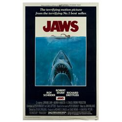 """Jaws"" Production Sample Poster."