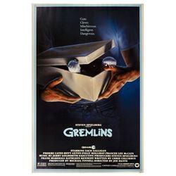 """""""Gremlins"""" One Sheet Poster."""