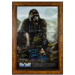 """King Kong"" Cast & Crew Multi-Signed Poster."