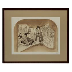 "Al Hirschfeld Signed ""My Fair Lady"" Etching."