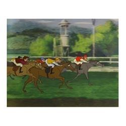 """Mary Poppins"" Horse Race Original Cel."