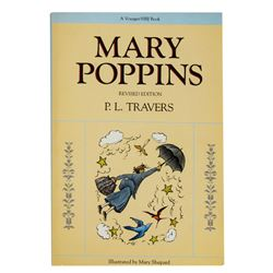 """Mary Poppins"" P.L. Travers Signed Book."