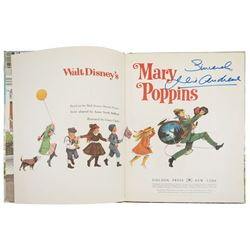 """Mary Poppins"" Big Golden Book Signed by Julie Andrews."
