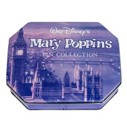"Set of (6) 30th Anniversary ""Mary Poppins"" Pins."