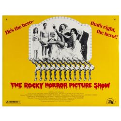 """The Rocky Horror Picture Show"" Half Sheet Poster."